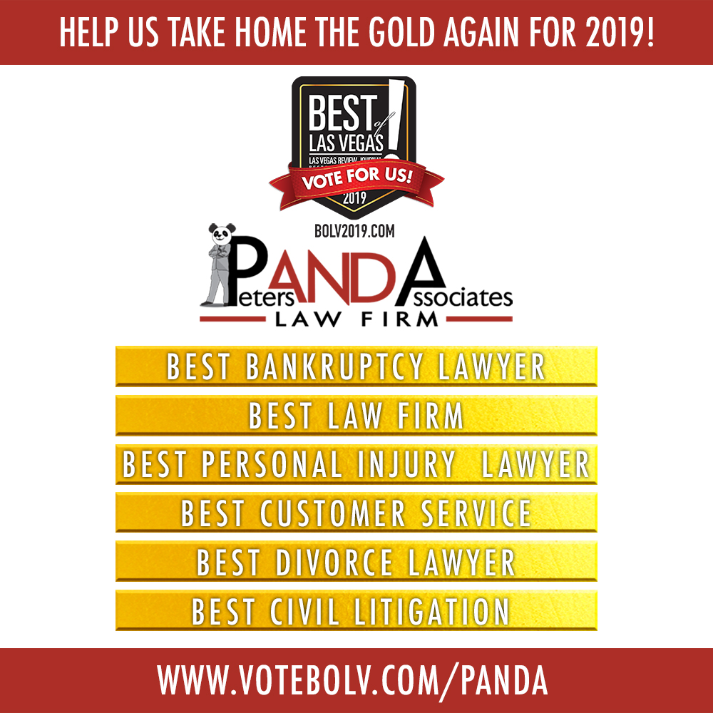 Vote Panda Law for Best Of Las Vegas 2019