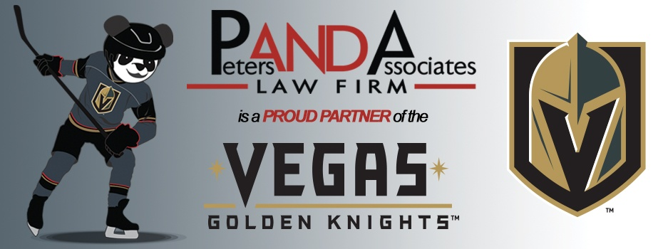 Panda Law Firm - Proud Partner of the Vegas Golden Knights